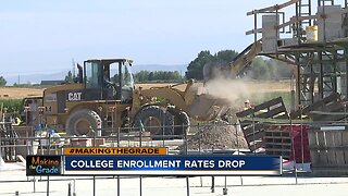 College enrollment rates drop in Kuna, follows national trend