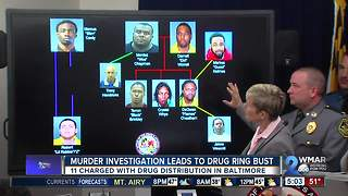Officials announce 'takedown' of local drug organization, 11 arrested