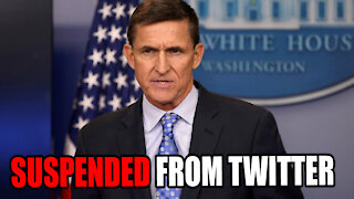 GENERAL FLYNN SUSPENDED FROM TWITTER
