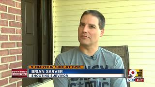Fifth Third shooting survivor shares his story