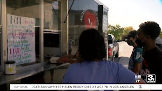 Mobile Grace food truck feeding families in need