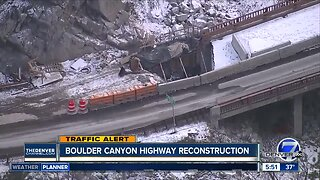 Boulder Canyon highway reconstruction update