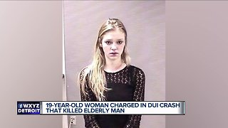 19 y.o. suspected drunk driver charged in crash that killed 81-year-old man