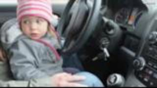 7-Year-Old Takes Wheel, Crashes Into Ambulance After Father Allegedly Overdoses | Rare News - Video