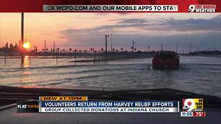 Volunteers return from Harvey relief efforts - Video