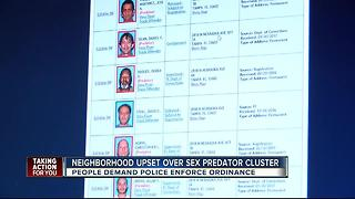 120 sexual predators, offenders in one neighborhood and the number keeps growing - Video