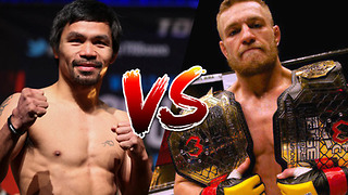 Conor McGregor FIGHTING Manny Pacquiao in April!?
