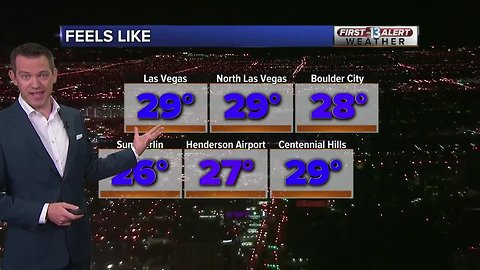 13 First Alert Las Vegas weather updated February 19 morning