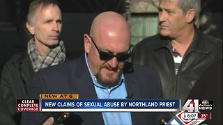 Man breaks 40-year silence, alleges priest abuse