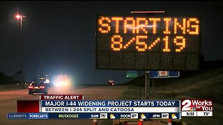 I-44 widening project to start Aug. 5