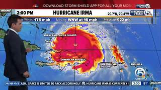 Hurricane Irma 3pm update: 9/7/17 - Video