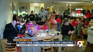 Forest Park family celebrates first Christmas - Video
