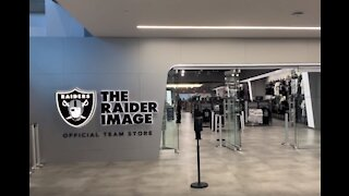 Inside look: Raiders team store at Allegiant Stadium