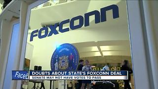 Incentive package concerns as Foxconn deadline looms - Video