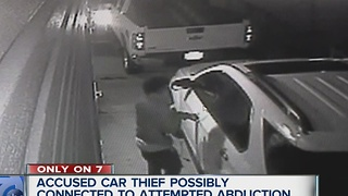 Accused thief may be linked to abduction - Video