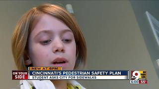 9-year-old to city council: 'We need a sidewalk' - Video