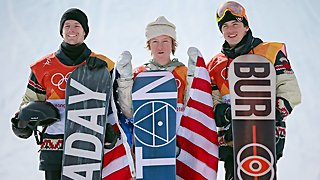 Who Is 17-Year-Old Olympic Snowboarder Red Gerard? - Video