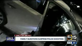 Family files lawsuit after man killed in Surprise police shooting - Video