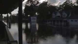 Flooding Turns US-76 into a River Through South Carolina Towns - Video