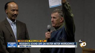 Residents sound off at water meter misreading forum - Video