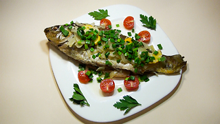 How To Peel Fish + Easy & Healthy Fish Recipe - Video