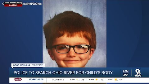 Missing 6-year-old was killed, dumped in Ohio River, police said