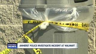 Amherst Police investigate incident at Walmart - Video