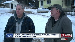 Iowa community rallies around family after terrible loss