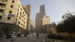Explosions Rock Downtown Beirut