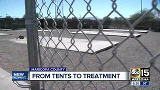 From tents to treatment - Video