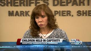 Bond set for adoptive parents arrested for alleged child abuse