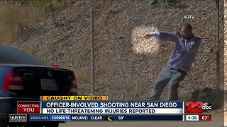 New video shows officer-involved shooting near San Diego