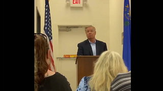 Lindsey Graham Does It Again: Crowd Explodes When He Tells Leftists, 'You Can Kiss My A--'
