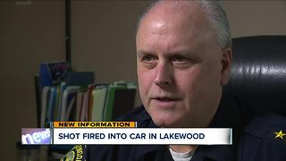 Man driving through Lakewood has window shot out - Video
