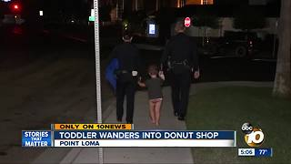 3-year-old found wandering in Point Loma - Video
