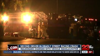 Second driver in deadly street racing crash charged