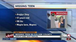 Deputies searching for missing Naples teen