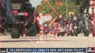 I-Team: New Hillsborough policy change cracking down on employees in gangs - Video