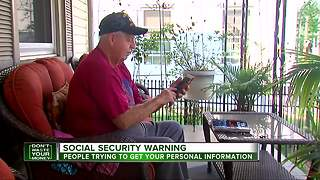 Social security scam warning
