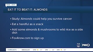 Eat It To Beat It: superfood almonds