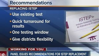 Recommendations issued for ISTEP replacement - Video