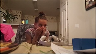Whisper Challenge Gets Emotional When Girl Finds Out She Is Going To Be A Big Sister - Video