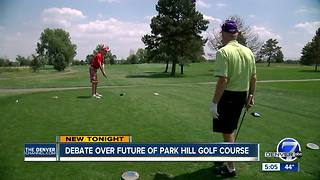 Community meeting informs public of the future of the Park Hill Golf Course - Video