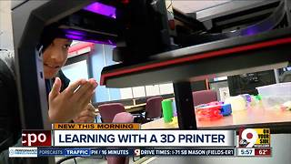 3-D printer unlocks student creativity at Indian Hill Middle School - Video