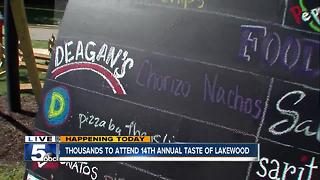 Video: What to expect at this year's Taste of Lakewood Festival - Video