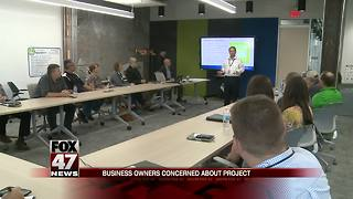 Businesses voice their concerns over downtown Jackson construction project