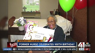#WeSeeYouKSHB: Family celebrates woman's 100th birthday with history lesson