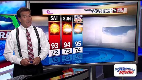 Florida's Most Accurate Forecast with Denis Phillips on Friday, May 24, 2019