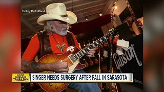 'Ramblin' Man' singer Dickey Betts in critical condition after falling while playing with family dog - Video