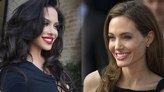 Looks Like Angelina Jolie Has A Doppelganger - Video
